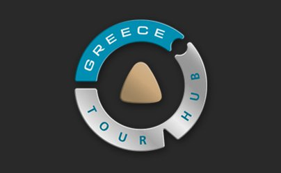 Greece Tour Hub logo design